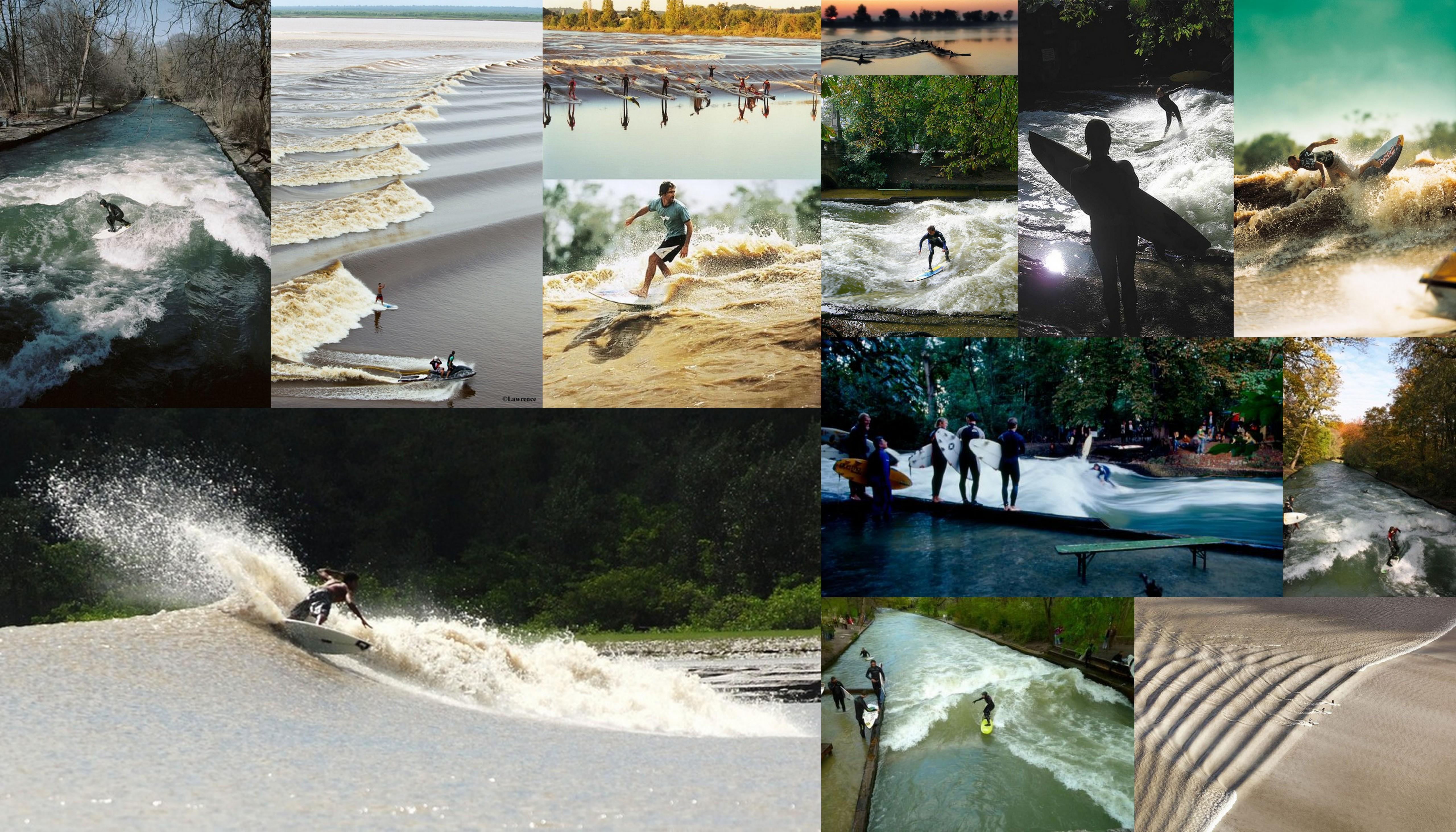 речной серфинг